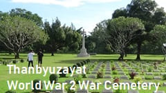myanmar world war 2 Cemetery, Mawlamyine Thanbyuzayat