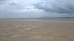 グエンサン・ビーチ タージン・ビーチ 干潟 Ngwe Saung Beach Thazin Beach 写真 Photo